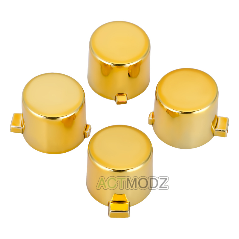 Buy Customized Action Buttons Kits for PS4 Controller Chrome Silver/Gold/Red/Blue/Purple/Green/Gun for only 4.99 USD