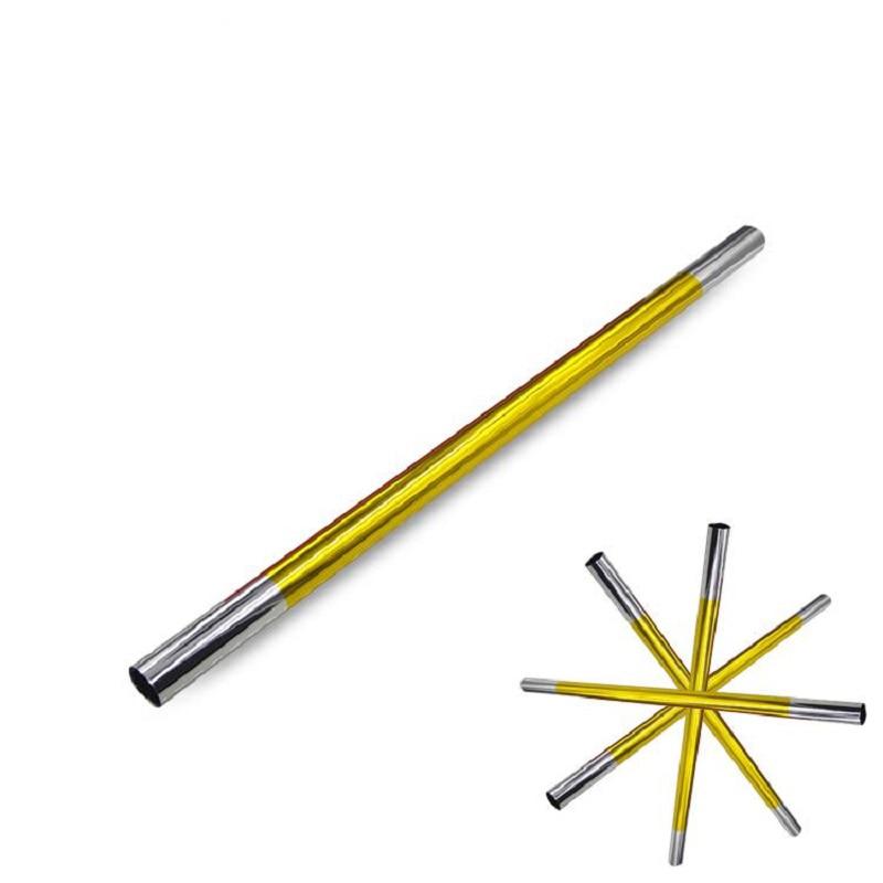 Magic rekvisita stokpinne 4 pinnar gula pinnar trollsticka en pinne till fyra magiska tricks