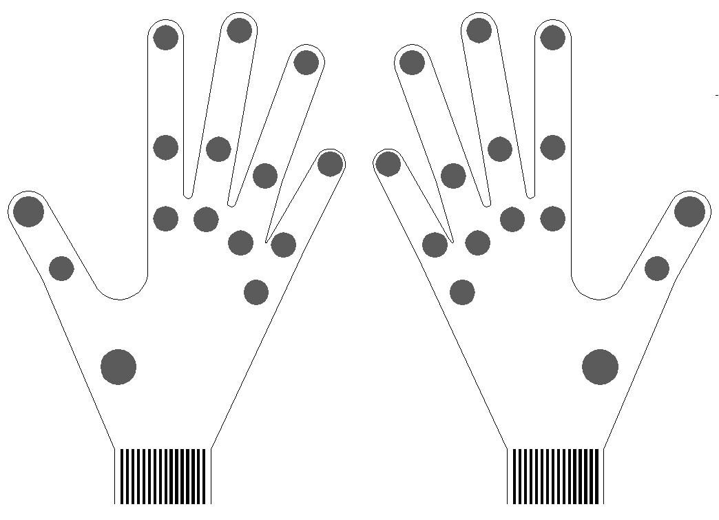 Piezoresistive Flexible Thin Film Pressure Sensor Robot