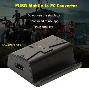 Image 2 - Sovawin G1X PlugและPlay PUBG Mobile Gamepad Controllerคีย์บอร์ดเมาส์Androidโทรศัพท์PC Converterอะแดปเตอร์สำหรับiPhone
