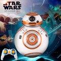 Frete grátis Star Wars 7 BB-8 Controle Remoto inteligente despertar a força bola robô de Star Wars Robô de brinquedo de presente de Natal