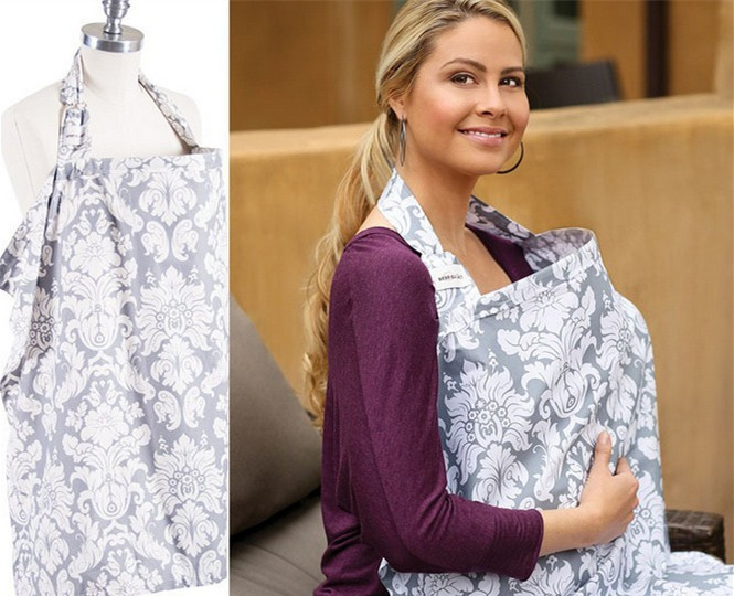 Maternity Enfermagem Dress Nursing Cover Breastfeeding Cover Infant Baby Breathable Cotton Muslin Nursing Cloth Suckle Cloth
