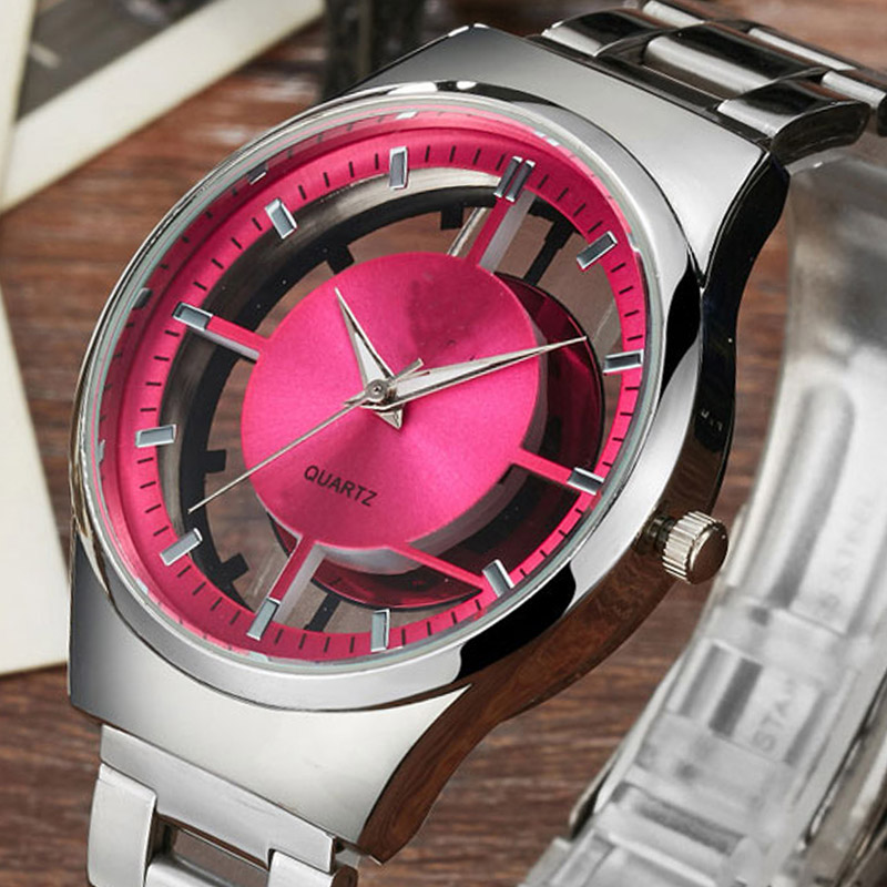 Unique Hollow Women Dress Quartz Wristwatch Ladies Creative Fashion Dress Watch Luxury Top Brand Elegant Girl Watch 2018 Gift цена
