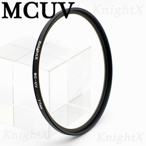 Image 4 - KnightX UV MCUV HD filter for sony nikon canon dslr camera lens accessories fotografie objectif p500 49 52 55 58 62 67 72 77 mm