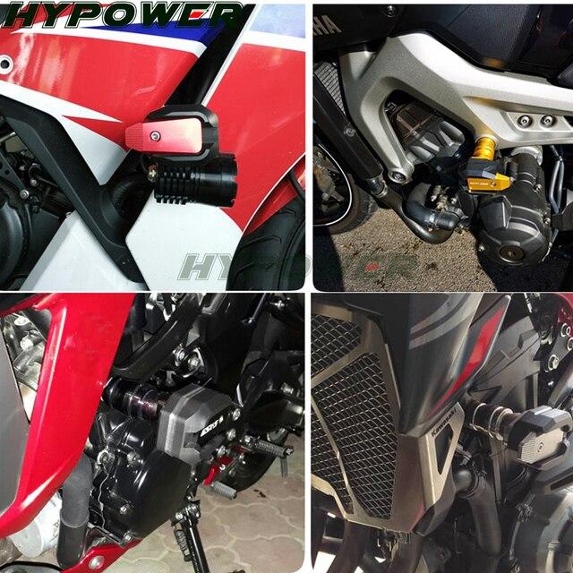 Para Benelli BN300 BN600 TNT300 TNT600 BN TNT 300 600 accesorios de motocicleta CNC marco de aluminio deslizante almohadillas antichoque Protector