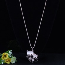 Gorgeous Bonsny Cat Necklace / Long Pendant