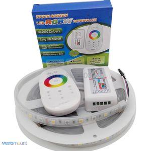 Image 3 - 5m 12V 5050 RGBW RGBWW LED Strip IP20 IP65 IP67 Waterproof Stripe Set + 2.4G RGBW Remote Controller + DC12V 5A Power Adapter Set
