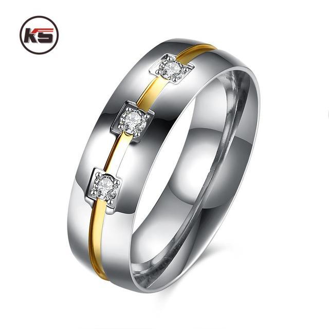 anello uomo platino