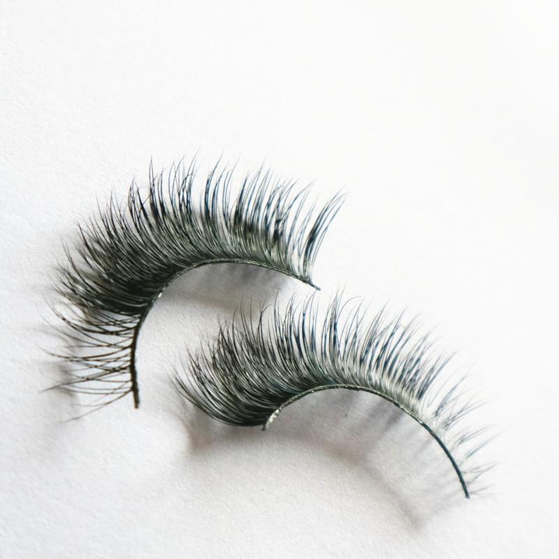 A17 High Quality Real Siberian Mink Eyelash Extension Handmade Full