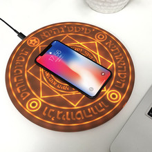 5W/10W Magic Array Wireless Charger Universal Qi Wireless Fast Charger Charging Pad for iPhone X 8 Samsung Note Xiaomi Huawei