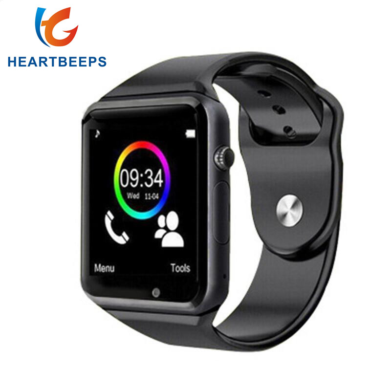 2016 Hot A1 bluetooth smart watch for font b android b font phone support SMI TF