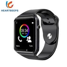 Лидер продаж 2016 года A1 Bluetooth Smart Watch для Android Phone Support smi/TF Мужчины Женщины наручные Спорт