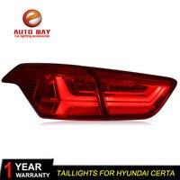 Car Styling For Hyundai Ix25 2016 Certa Taillights TAIL Lights LED Tail Light LED Rear Lamp