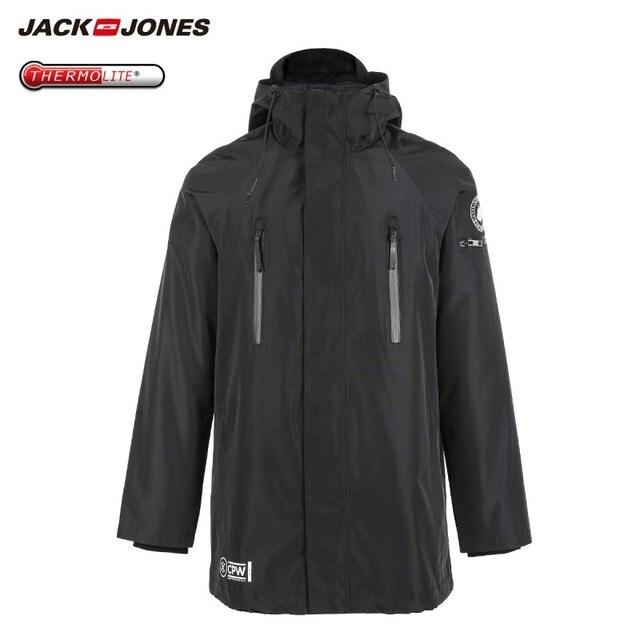 JackJones Mens Winter 3 in 1 Hooded Parka Coat Long Jacket Warm Overcoat Luxury Menswear 218309510
