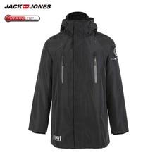 JackJones hommes hiver 3 en 1 à capuche Parka manteau longue veste chaud pardessus de luxe homme vêtements 218309510