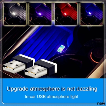 Estilo de coche luz de ambiente USB macho decoración lámpara para Lexus IS350 IS250 IS200 IS300 RX350 RX250 RX330 GS300 GS350 GS400