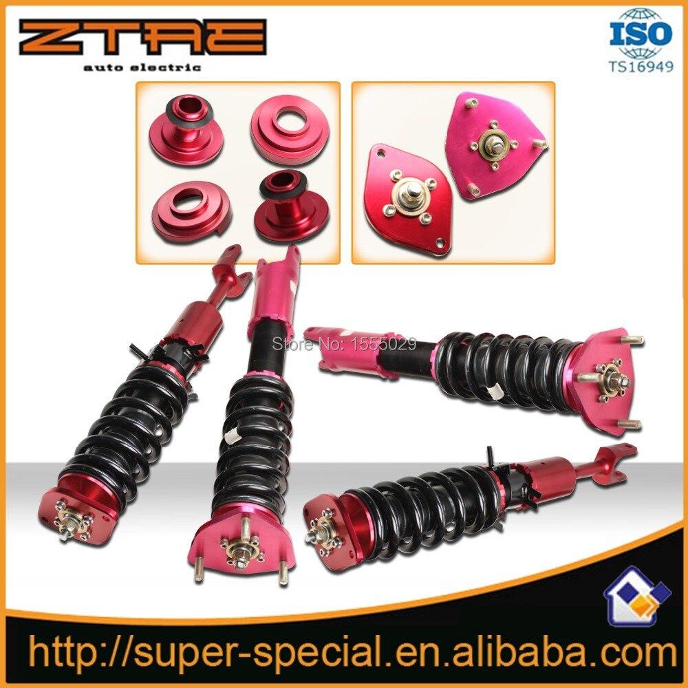 Aliexpress Com Buy Shock Absorber Non Adjustable: Non Adjustable Red Shock Absorber For Nissan 350Z High