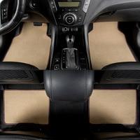 kalaisike universal car floor mats for Renault All Models kadjar fluence captur Captur Laguna Megane Latitude car styling
