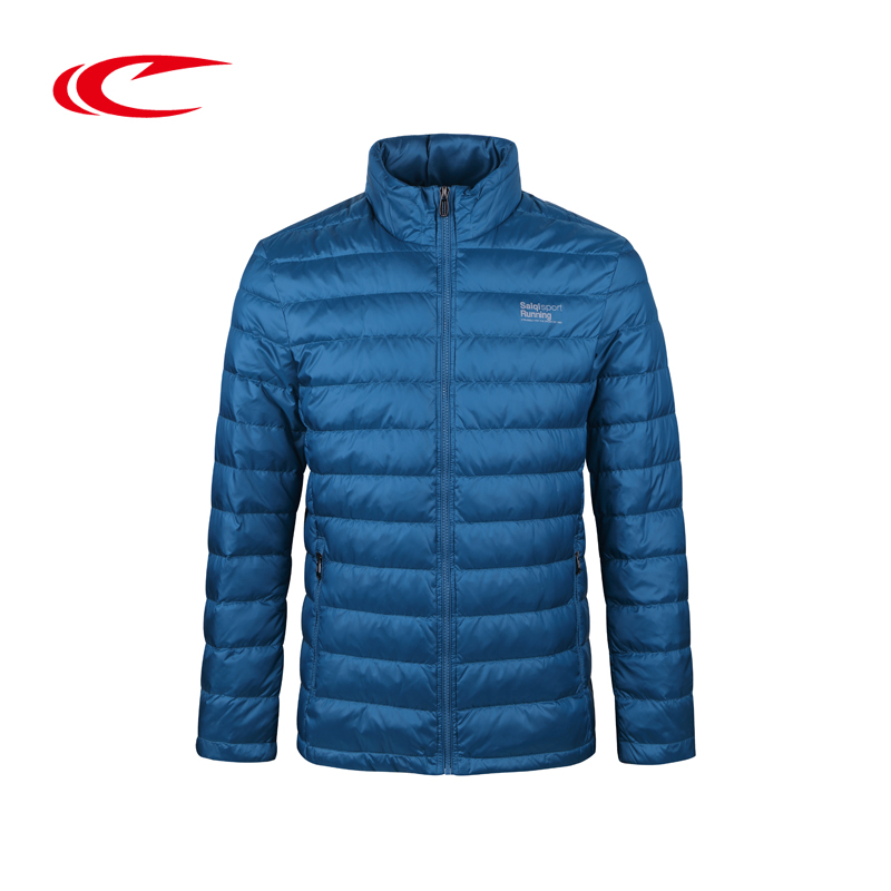 SAIQI Skiing Jackets Gray Duck Down Warm Ski Jacket Outdoor Training Exercise Coats Men Autumn Winter Eiderdown Jacket Down Coat running river brand winter thermal women ski down jacket 5 colors 5 sizes high quality warm woman outdoor sports jackets a6012