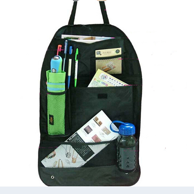 Truck Seat Organizer >> Siparnuo 2pcs Black Car Truck Back Seat Organizer Travel Storage Bag
