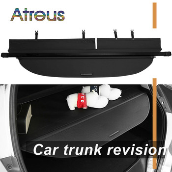 Atreus High Quality 1set Car Rear Trunk Security Shield Cargo Cover For Toyota RAV4 2014 2015 2016 2017 2018 Accessories