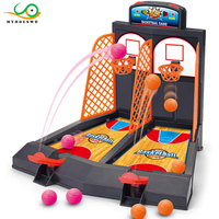 MYHOESWD Mini Basketball Game Table Play Toys Family Sport Home Toy Balls Basketball Shooting Machines Plastic Office Game Toys