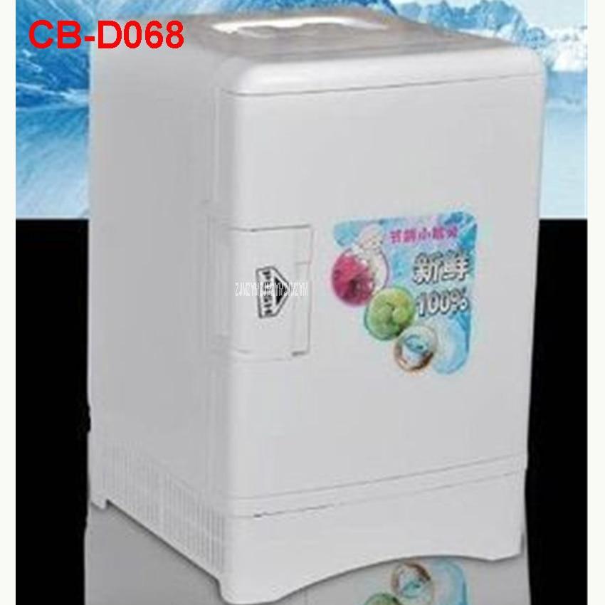 CB-D068 Portable Freezer 13.5 L Mini Fridge Refrigerator Car Home A Dual Use Compact Car Fridge 12/220 V Temperature Variations