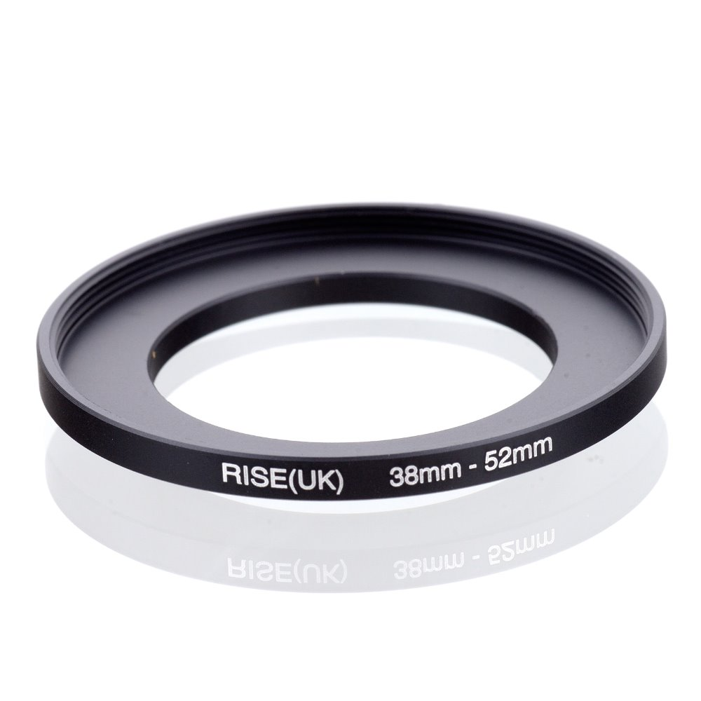 original RISE(UK) 38mm-52mm 38-52mm 38 to 52 Step Up Ring Filter Adapter black free shipping
