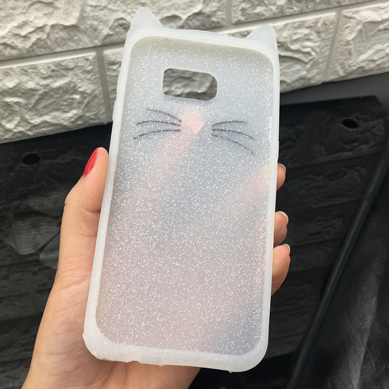 For Samsung J3 J5 2017 EU J7 pro 2017 Case Cute Cartoon Cat Cases 3D Silicone Soft Back Cover Funda For Galaxy J530 Phone Cases (13)