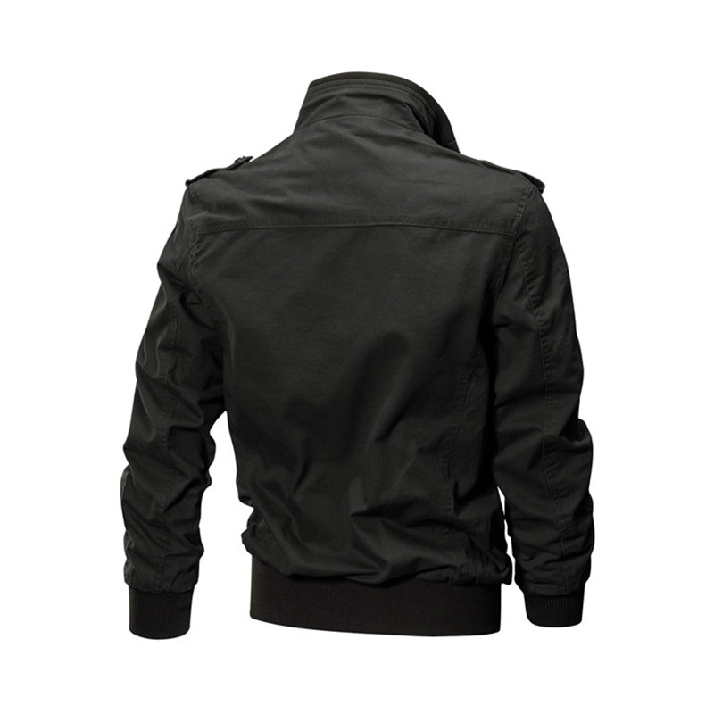 HTB1oLB5gBnTBKNjSZPfq6zf1XXaz MORUANCLE Mens Casual Cargo Jackets Military Style Flight Bomber Jacket And Coat For Man Outerwear Plus Size M-5XL Stand Collar