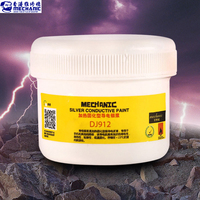 MECHANIC 100g 100% Silver Conductive Glue Wire Electrically Paste Adhesive Paint PCB Repair