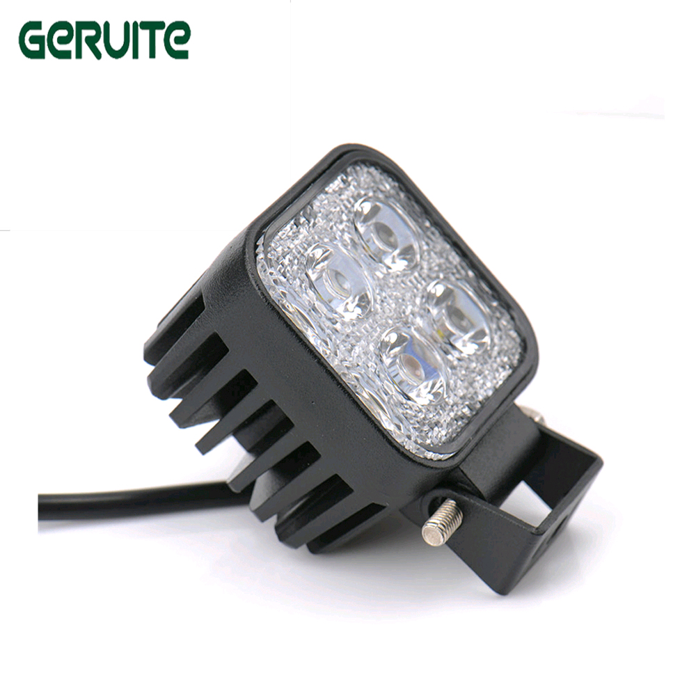 2Pcs Mini 6 Inch 12W 4x3W Car LED Light Bar driving light Worklight/FloodLight/SpotLight for Boating/ Hunting/ Fishing fog light