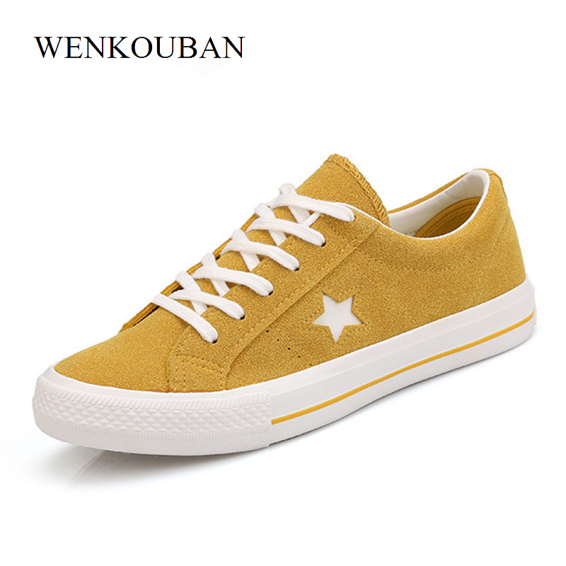 Women Fashion Sneakers Ladies Trainers Summer Canvas Shoes Star Logo Casual Shoes Flat Trainers Basket Femme Plus Size 35-43