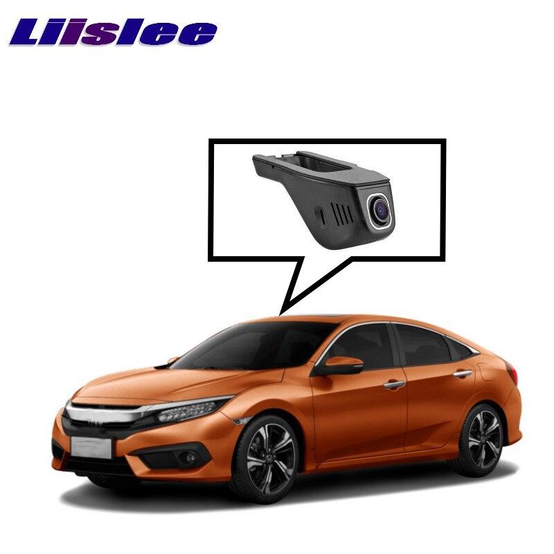 LiisLee Car Black Box WiFi DVR Dash Camera Driving Video Recorder For HONDA Civic FC1 FC2 FC3 FC4 FC5 FK4 FK7 FK8 2016 2017 цены онлайн
