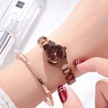 2019 Super Slim Elegant Women Watches Women Luxury Casual Dress Watch New Ladies Small Dial Watch Woman Clock relojes para mujer цена в Москве и Питере