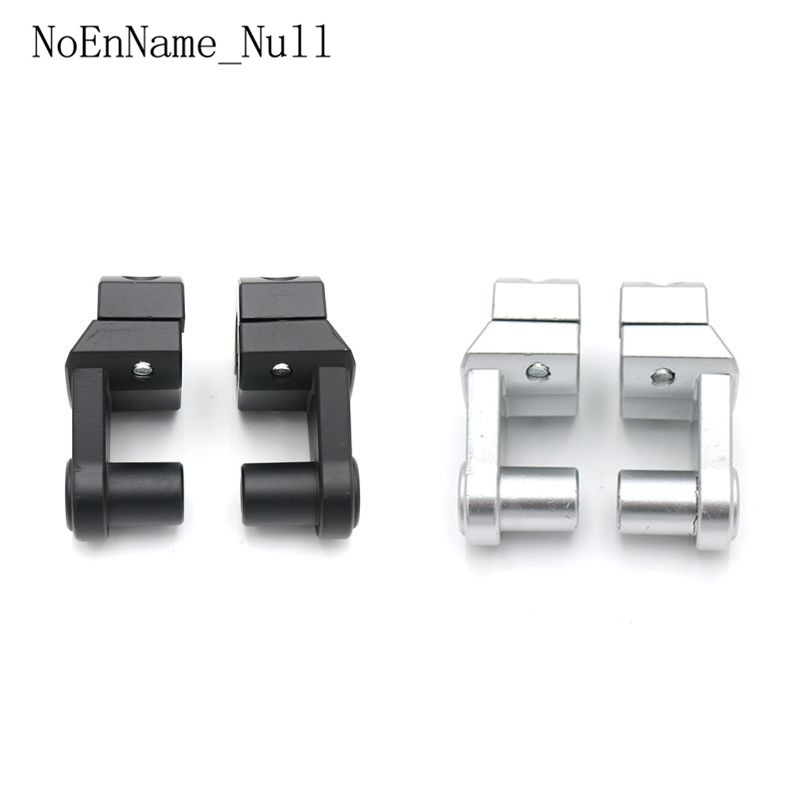 2 Pcs Motorcycle Motor Handlebar Clamps Silver Black Riser 22mm 28mm for Suzuki for Yamaha for Honda for KTM Aluminum Alloy Bar in Handlebar from Automobiles Motorcycles