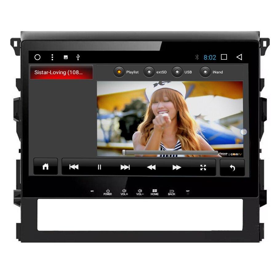 Navirider Android 7.1 car radio tape recorder quad Core 2GB RAM 32GB rom for Toyota LANDCRUISER 2016 HU head units multimedia