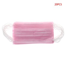 ZLROWR 20Pcs Disposable Medical Surgical Dust Ear Loop Face Mouth Unisex Masks