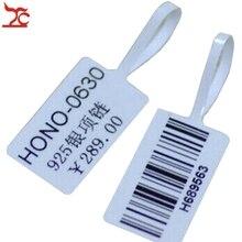 1000 قطعة طابعة لاصقة حساسة للحرارة تسمية متجر المجوهرات ملصق الطباعة الباركود شركة الطباعة الأسعار