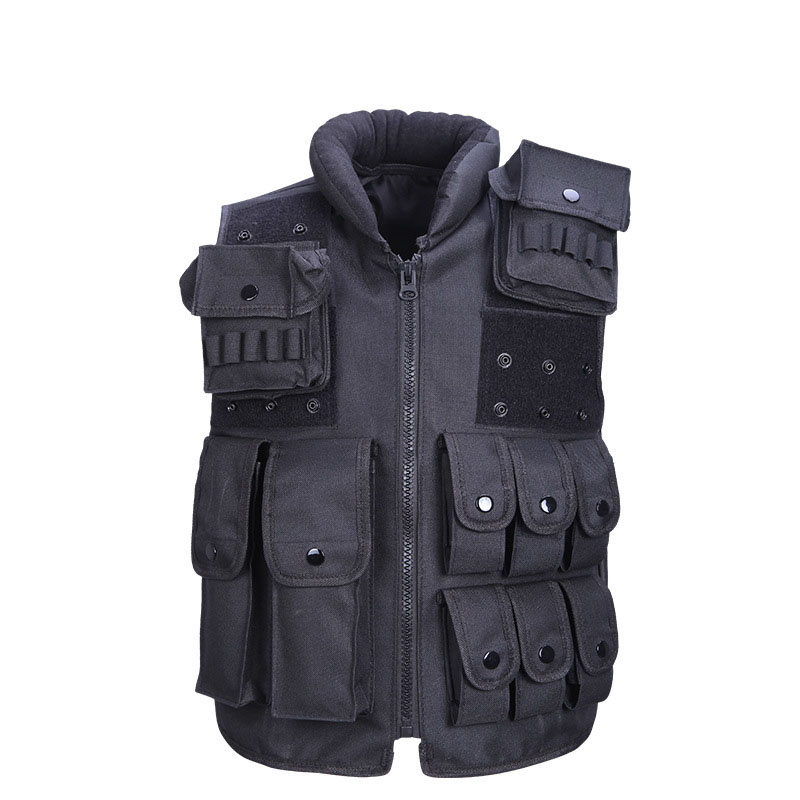 Outdoor CS Tactical Hunting Airsoft Paintball Vest Muti Pockets Service Security Protection Training Army Military Tactical Vest