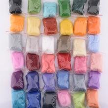 MoTiRo,36Pcs/Lot,Solid Color Poked Wool Felt,Send tool set,Non-Finished Felt For Sewing/Beginner/Felting/Handmade/DIY/5g
