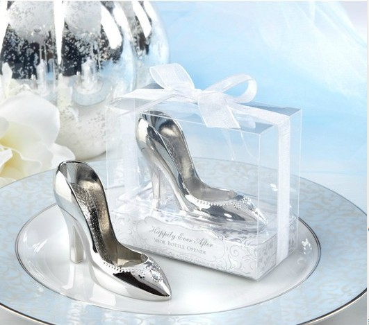 14635a3329f99f wedding party favor gift and giveaways for guests--Cinderella shoe bottle  wine opener 50pcs lot