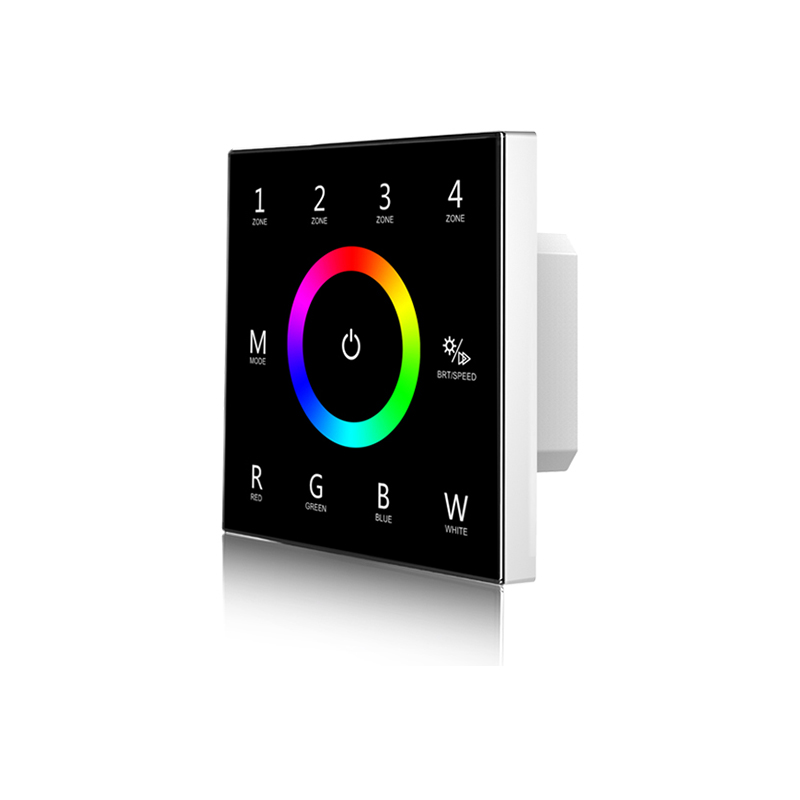 DMX512 RGB Controlador LED de atenuación de controlador inalámbrico de control remoto programable controlador maestro - 2