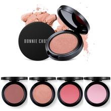 1 Pc Blush Baked Cheek Face Blusher Texture Baked Blush Face Base Mineral Blusher Palette Blush Makeup 6 Colors цены