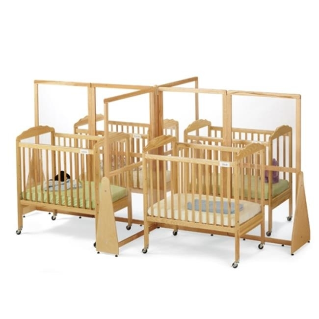 JONTI-CRAFT 1653JC JONTI-CRAFT SEE-THRU CRIB DIVIDER - QUAD lace panel see thru vintage dress