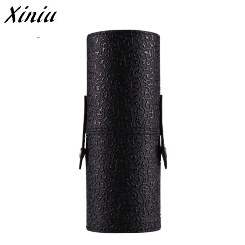 Xiniu Toiletry Bag Leather Cosmetic Case Portable Storage Makeup Bags Organizer Brush Holder Cosmetic Pouch/Bag Necessaire A0711 spark storage bag portable carrying case storage box for spark drone accessories can put remote control battery and other parts