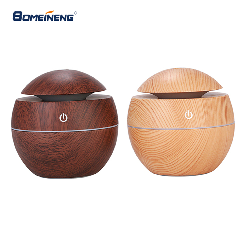 BOMEINENG Wood Grain Mini Air Humidifier Ultrasonic Mist Maker Fogger Water Electric Aroma Diffuser Oil Aromatherapy Humidifiers bomeineng wood grain mini air humidifier ultrasonic mist maker fogger water electric aroma diffuser oil aromatherapy humidifiers