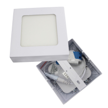 LED panel light 6W 12W 18W Round/Square Surface Mounted panel led Ceiling lamp downlight kitchen AC85-265V +Driver AE