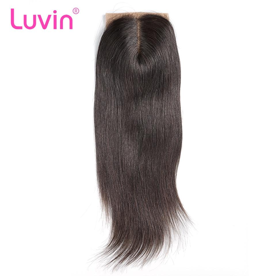 Luvin Peruvian Silk Base Closure Straight 4
