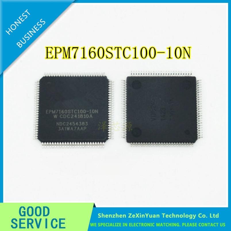 5PCS/LOT EPM7160STC100-10N EPM7160STC100-10 EPM7160STC100 EPM7160 QFP-100 New